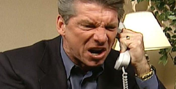 CECI a Vince McMahon en colère contre les lutteurs et les employés de la WWE