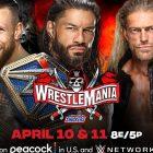 WWE WrestleMania 37: Comment regarder sur Peacock, les heures de début et la carte de match