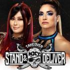 Io Shirai Vs Raquel Gonzalez prêt à l'événement principal Night 1 de NXT TakeOver: Stand and Deliver