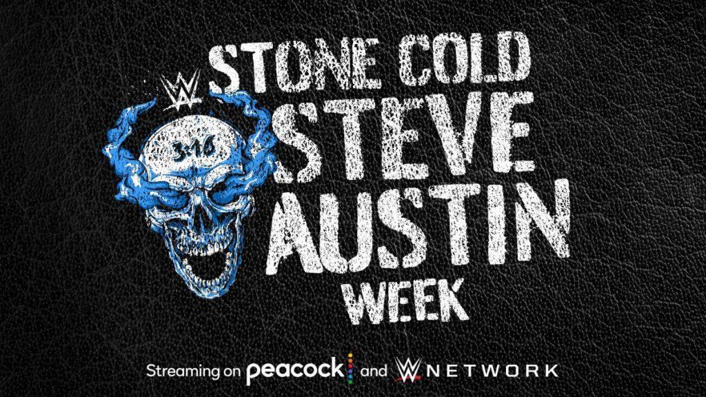 """La WWE annonce le programme de diffusion de la semaine Steve Austin """"Stone Cold"""" sur Peacock et WWE Network"""