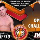 Synergy Wrestling fait les annonces du week-end de la première WrestleMania