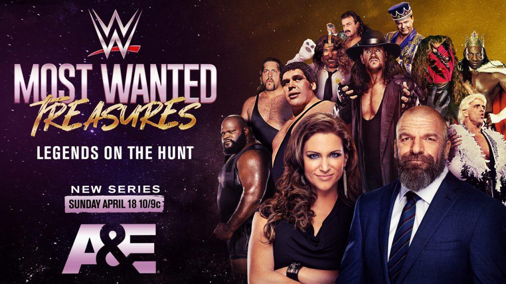 A&E et la WWE annoncent le concours de souvenirs les plus recherchés