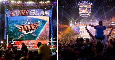 La WWE prépare une foule en direct pour SummerSlam après le succès de WrestleMania 37