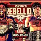 IMPACT Wrestling publie la vidéo d'ouverture du PPV Rebellion de ce soir
