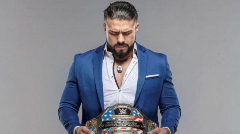 Andrade face à un ancien champion de la WWE lors du premier match post-WWE