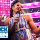 Bianca Belair prononce son discours de victoire sur SmackDown qui laisse Sasha Banks furieuse