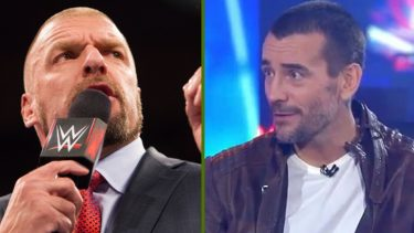 CM punk not interested in triple h match