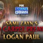 Carte WWE SmackDown (4/2/21) - Apparition de Logan Paul