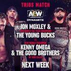 Jon Moxley et Young Bucks s'unissent, match pour le titre TNT et plus pour 4/7 AEW Dynamite