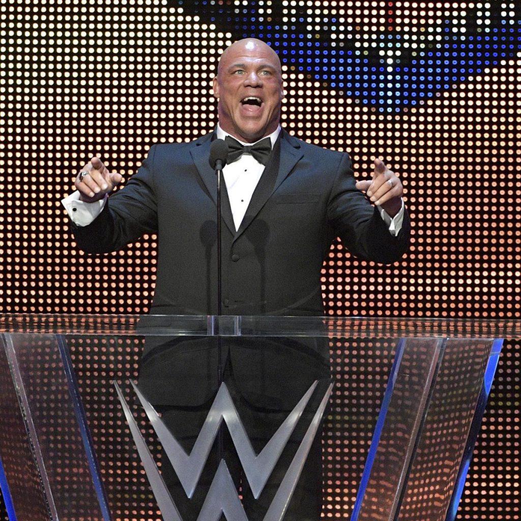 Kurt Angle dit qu'il a été «surpris» Samoa Joe a été libéré par la WWE |  Rapport du blanchisseur