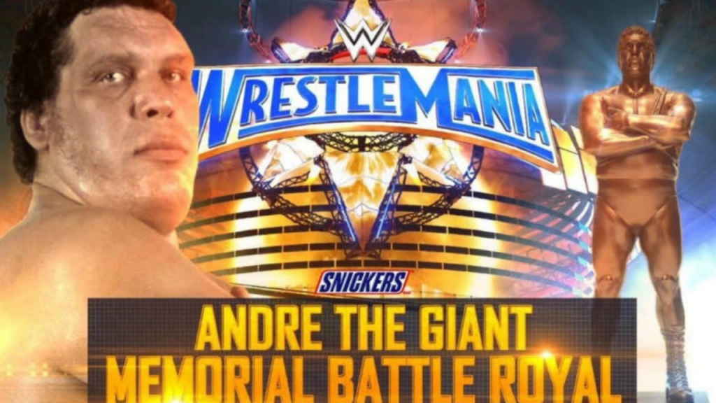 Why is Andre the Giant Memorial Battle Royal not taking place at Wrestlemania 37