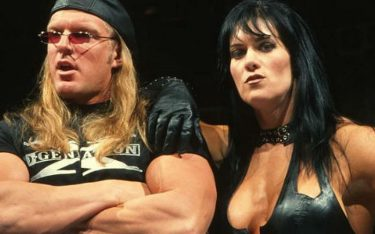 Triple H and Chyna