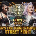 Street Fight pour les titres par équipe par équipe féminine de NXT fixés pour la semaine prochaine