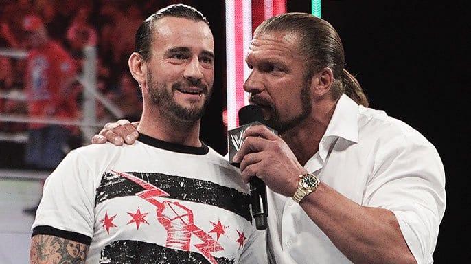 Triple H dit qu'il a parlé à CM Punk au cours des deux dernières années