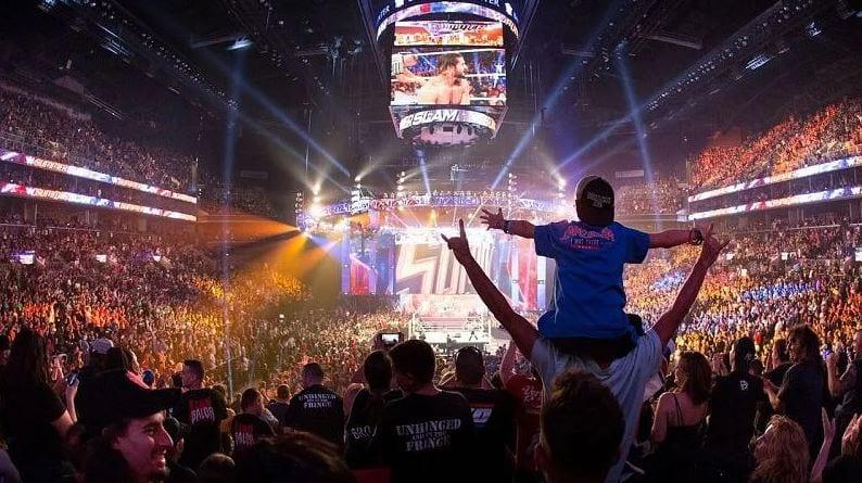 WWE retourne à la mise à jour des tournées, s'ils gardent toujours le Thunderdome
