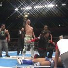 Will Ospreay remporte le titre IWGP World Heavyweight au NJPW Sakura Genesis