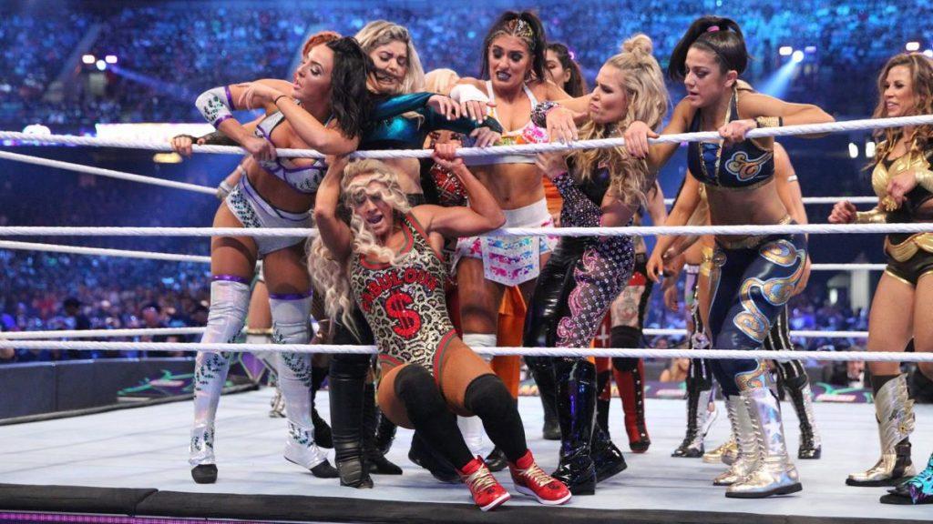WrestleMania Women's Battle Royal aurait été planifié et annulé pour la tourmente actuelle par équipe