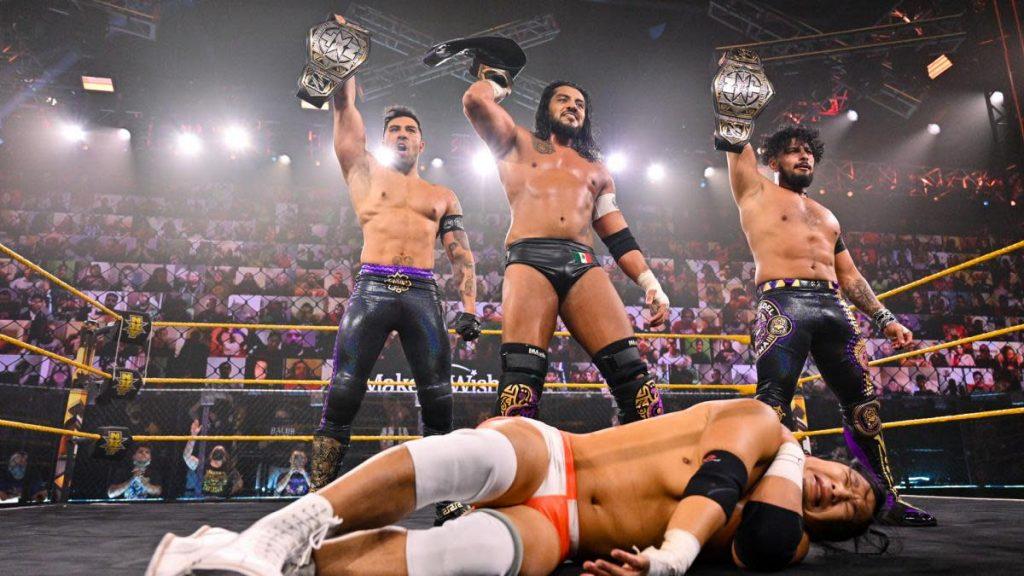 Wrestling News: Santos Escobar sur l'adaptation à la WWE de Lucha Libre