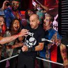 Photos: Attitude Era WWE Star et d'autres dépeignent des zombies à WrestleMania Backlash