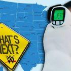 WWE cible des villes avec des mesures de sécurité COVID détendues pour les prochains sites de tournée
