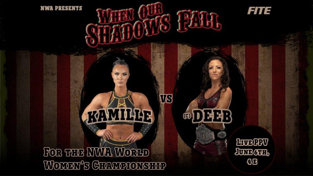 Serena Deeb contre Kamille se prépare pour NWA's When Our Shadows Fall;  Melina et Taryn Terrell reviendront sur le ring