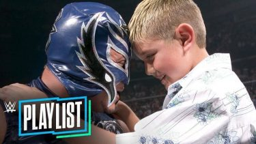 Rey and Dominik Mysterio back in 2005