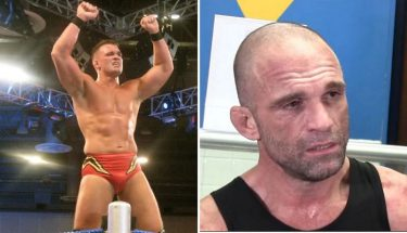 Charlie Haas was hit by a fan at a wrestling event