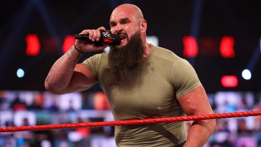 Braun Strowman répond au rapport sur son prix demandé après la WWE pour les réservations