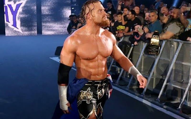 Buddy Murphy crée un gros buzz sur la scène de lutte indépendante après la sortie de la WWE