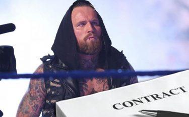 La WWE détient toujours des droits de négociation exclusifs pour Aleister Black