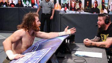La WWE prévoit de fermer les fans ce soir à Hell in a Cell pour la querelle Kevin Owens contre Sami Zayn