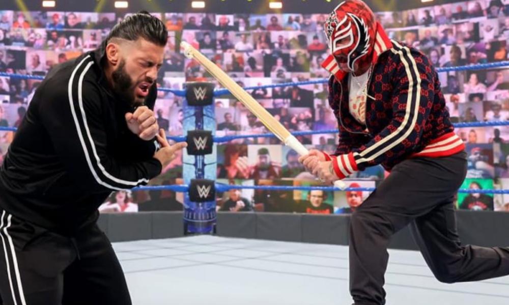 Le match Rey Mysterio contre Roman Reigns Hell in a Cell a été déplacé vers WWE SmackDown
