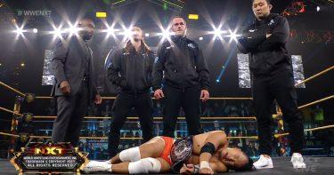 Roderick Strong revient à NXT en tant que leader de la mine de diamant