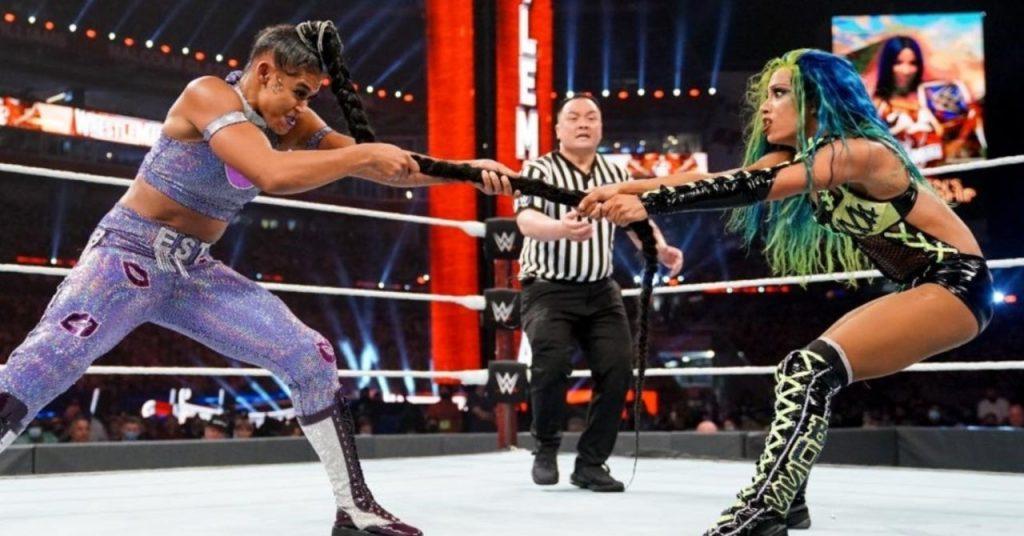 Sasha Banks parle du Main Event de la WWE WrestleMania 37