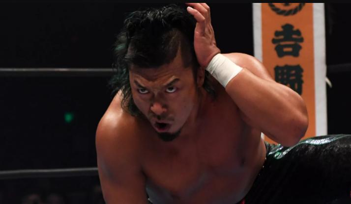 Shingo Takagi s'entretient avec Kazuchika Okada pour déterminer le nouveau champion du monde des poids lourds IWGP