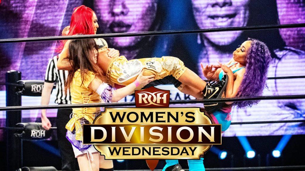 Vita VonStarr reçoit son ticket d'or pour le ROH Women's Title Tournament