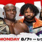 Résultats du Main Event de la WWE - 8 juillet 2021
