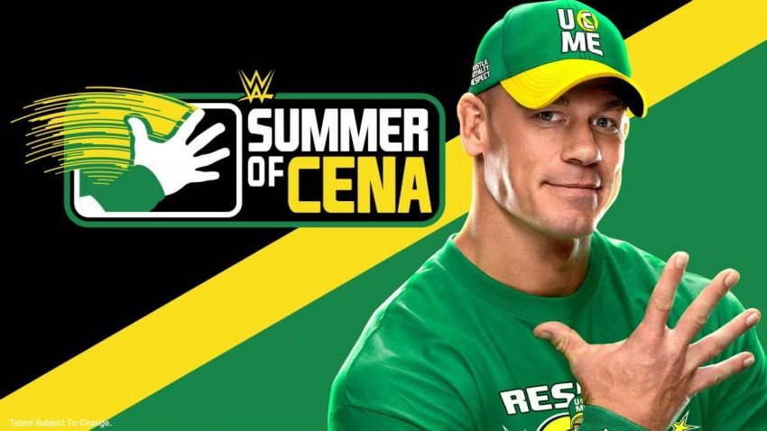 WWE announces the Summer of John Cena