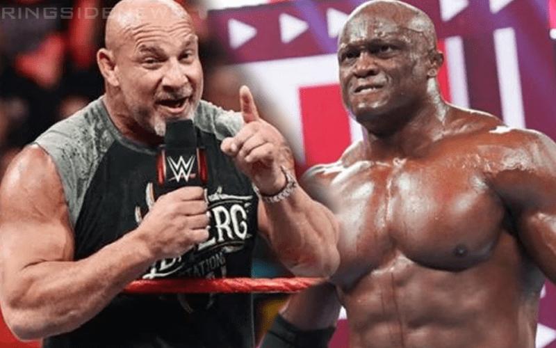 Bobby Lashley refuse le défi de Goldberg pour le championnat de la WWE