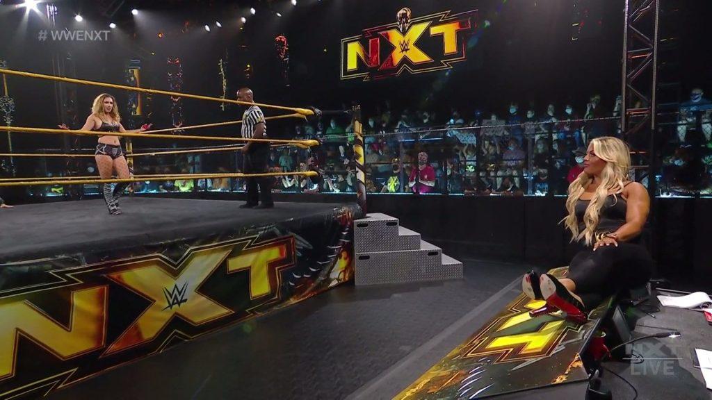 Jacy Jayne fait ses débuts sur WWE NXT, l'histoire de Mandy Rose se poursuit -
