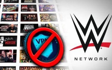 La WWE réprime les fans américains en utilisant un VPN pour accéder au réseau WWE