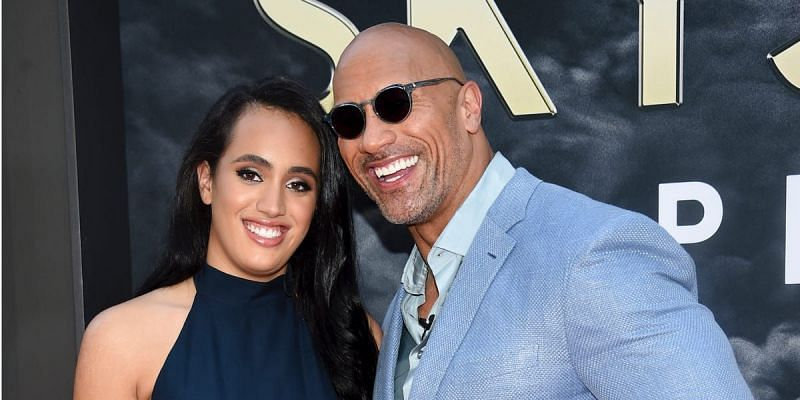 Simone and WWE veteran The Rock