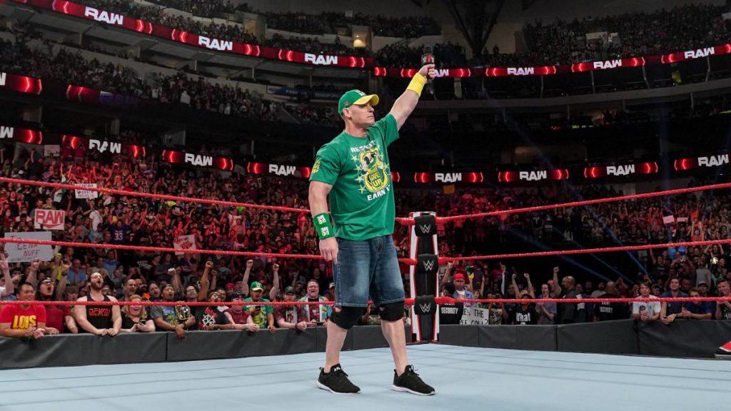 L'audience de WWE RAW pour le premier épisode avec des fans et de l'argent à la banque Fallout