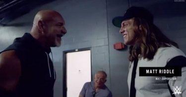 Matt Riddle aborde les rapports du retour de Goldberg à WWE Raw cette semaine