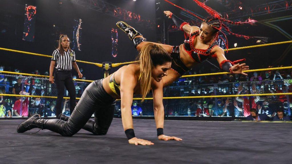 Mise à jour de Xia Li du match pour le titre de l'événement principal NXT, Raquel Gonzalez conserve