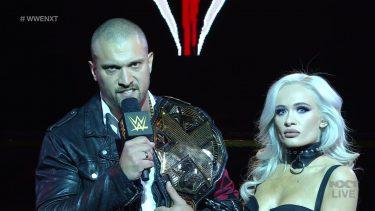 NXT relance le segment Karrion Kross pendant les enregistrements de cette semaine