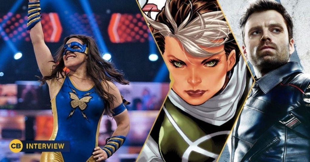 Nikki Cross de la WWE veut jouer le Winter Soldier et Rogue de Marvel