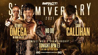 Résultats IMPACT Wrestling Slammiversary 2021 LIVE – IMPACT Wrestling
