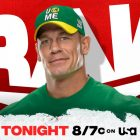 Résultats WWE RAW du 19 juillet 2021