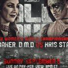 Britt Baker contre Kris Statlander pour All Out;  Jamie Hayter obtient sa première victoire AEW